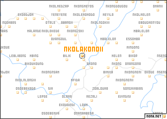map of Nkolakono II