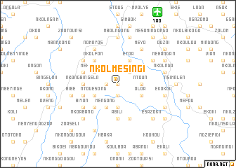 map of Nkolmesing I