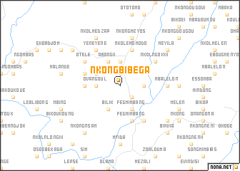 map of Nkongbibega