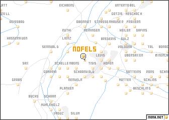 map of Nofels