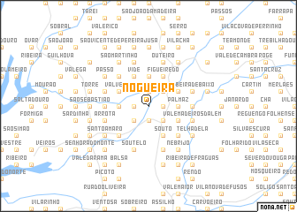 map of Nogueira