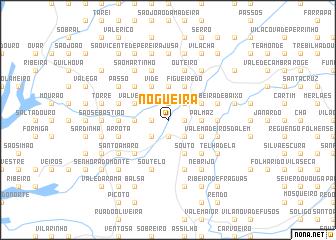 map of Nogueira