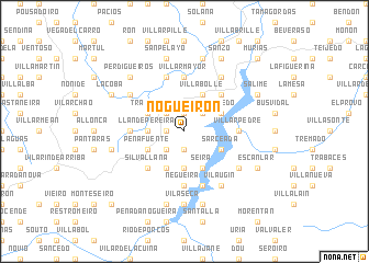 map of Nogueirón