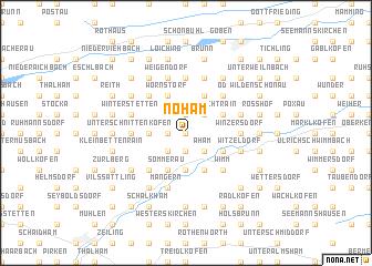 map of Nöham