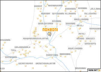map of Noh Bonī
