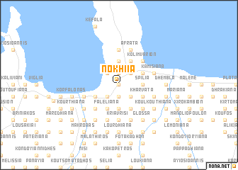 map of Nokhiía