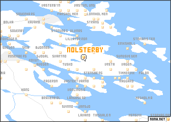 map of Nolsterby