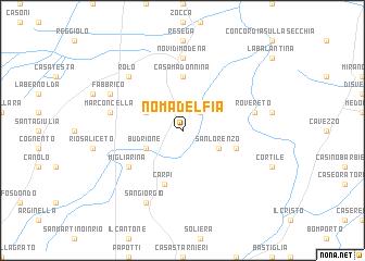 map of Nomadelfia
