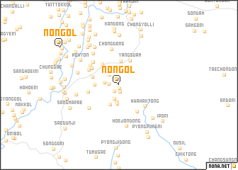 map of Non-gol