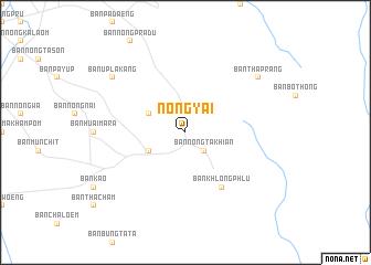 map of Nong Yai