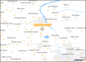 map of Nonnenhof