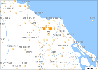 map of Nonok