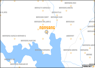 map of Non Sang