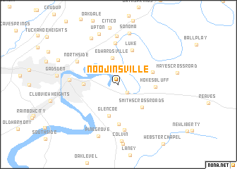 map of Noojinsville