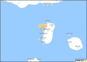 map of Noou