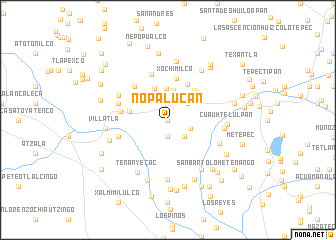 map of Nopalucan