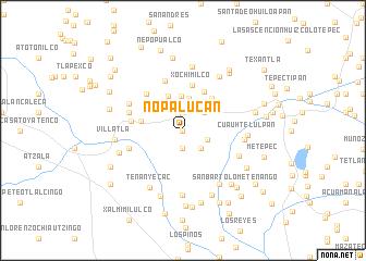 map of Nopalucan