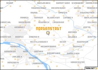 map of Nordenstadt
