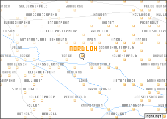 map of Nordloh