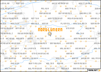 map of Nordlünern