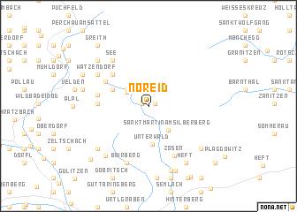 map of Noreid