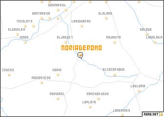 map of Noria de Romo