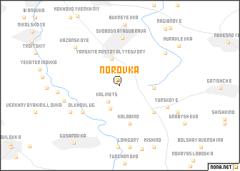 map of Norovka