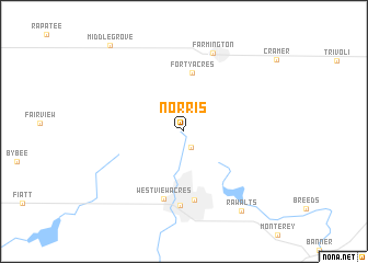 map of Norris