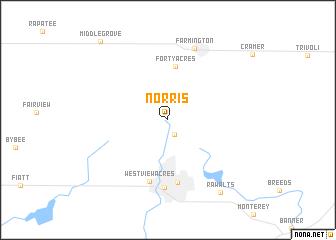 map of Norris