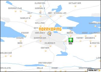 Norrkping Sweden map nonanet