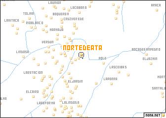 map of Norte de Atá