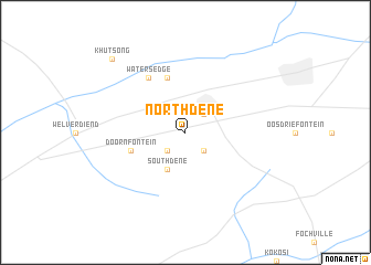 map of Northdene