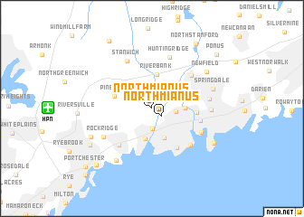map of North Mianus