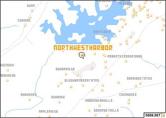 map of Northwest Harbor