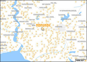 map of Norumok