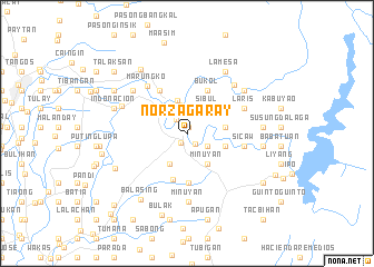 map of Norzagaray