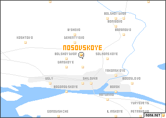 map of Nosovskoye