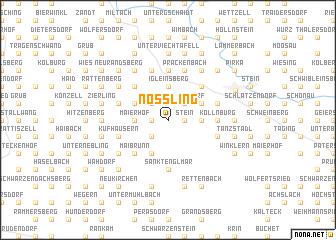 map of Nößling