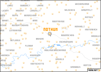 map of Nothum