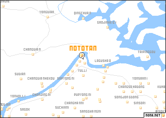map of Not\
