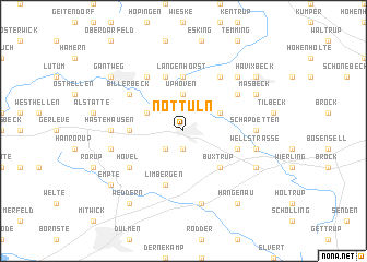 map of Nottuln