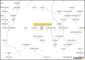 map of Noumbanda