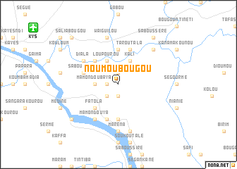 map of Noumoubougou