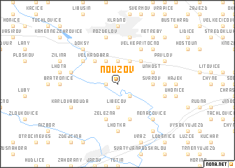 map of Nouzov