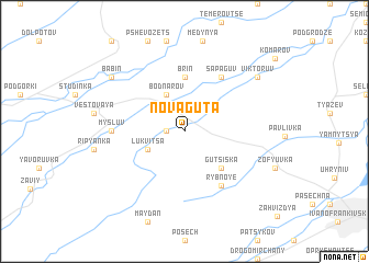map of Nova-Guta