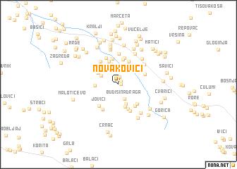map of Novakovići