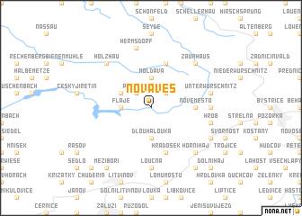 map of Nová Ves