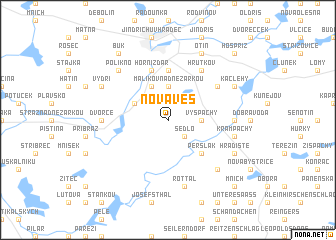 map of Nová Ves