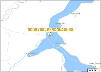 map of Novaya Aleksandrovka