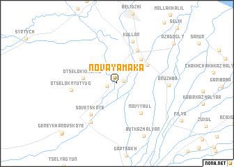 map of Novaya Maka